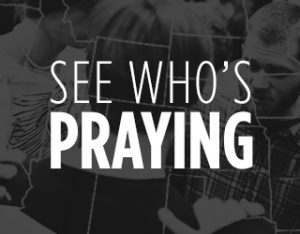 see who is praying